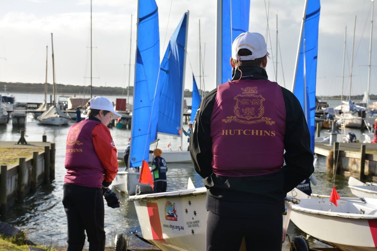 24 teams vying for national team sailing honours