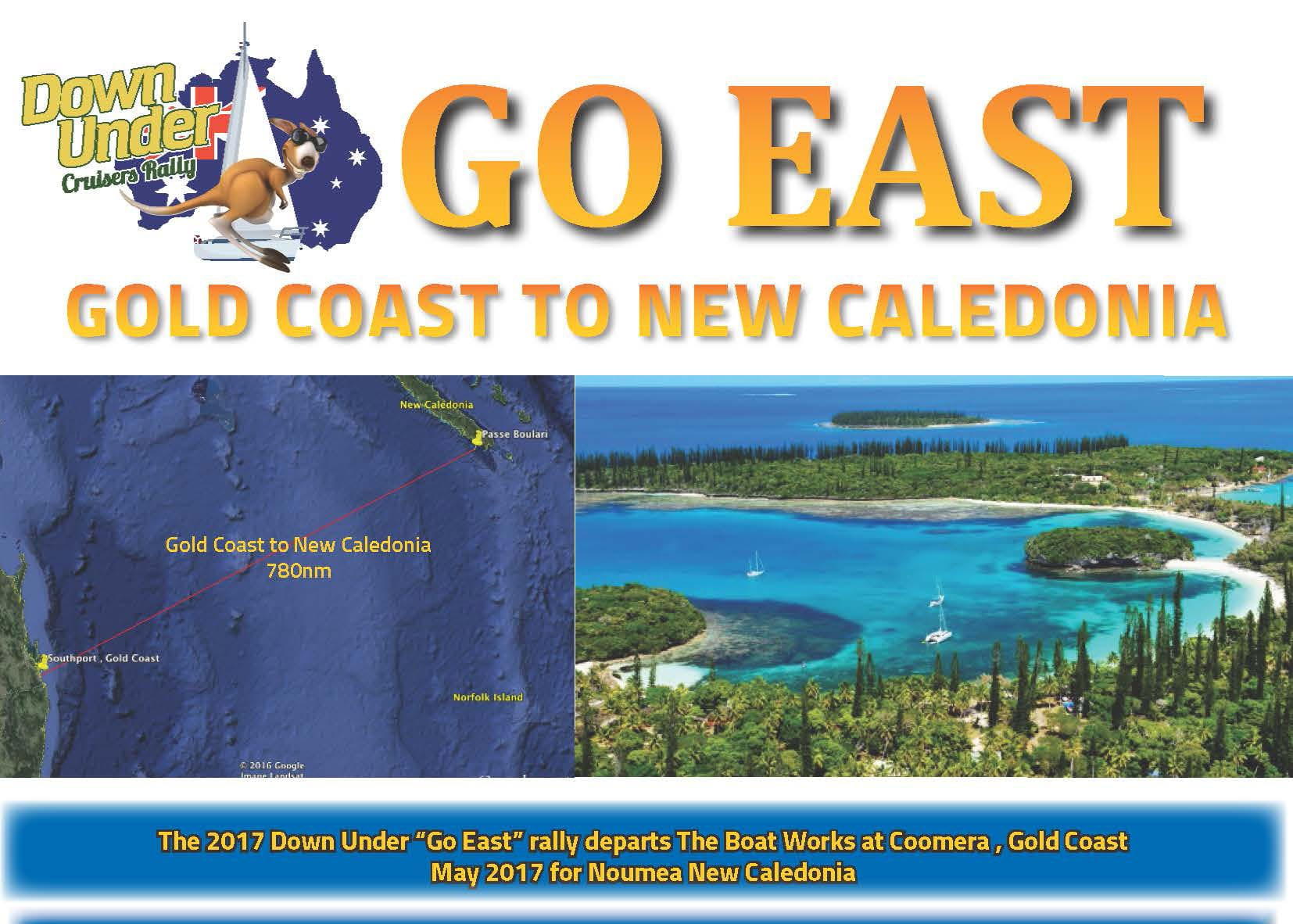 "Gold Coast to New Caledonia – Down Under Rally ""Go East"" info day"