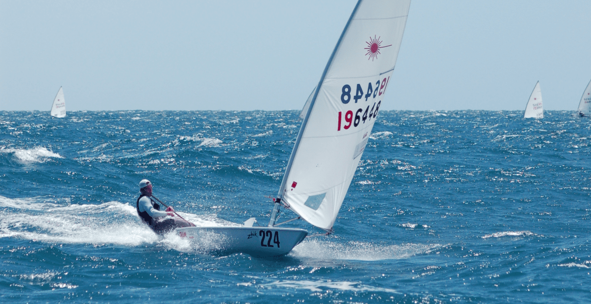 2012 Olympic men's Laser gold medallist Tom Slingsby attended the 2010 nationals in Adelaide. Photo: Peter Muirhead