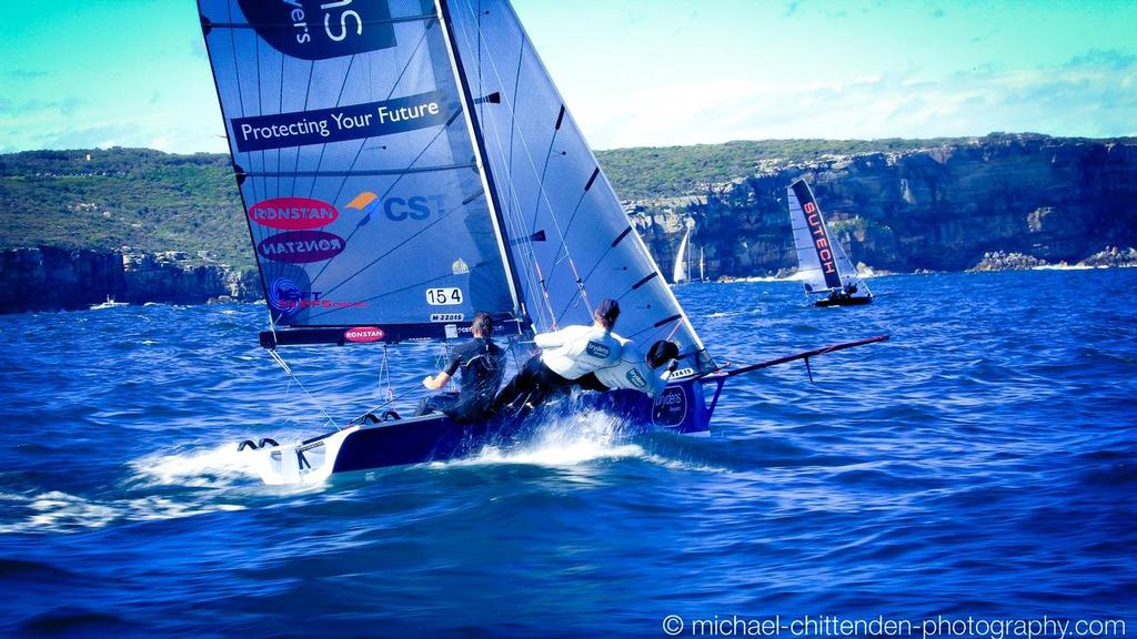 Manly 16ft Skiffs – Race 1 – Live Stream – 16footersTV