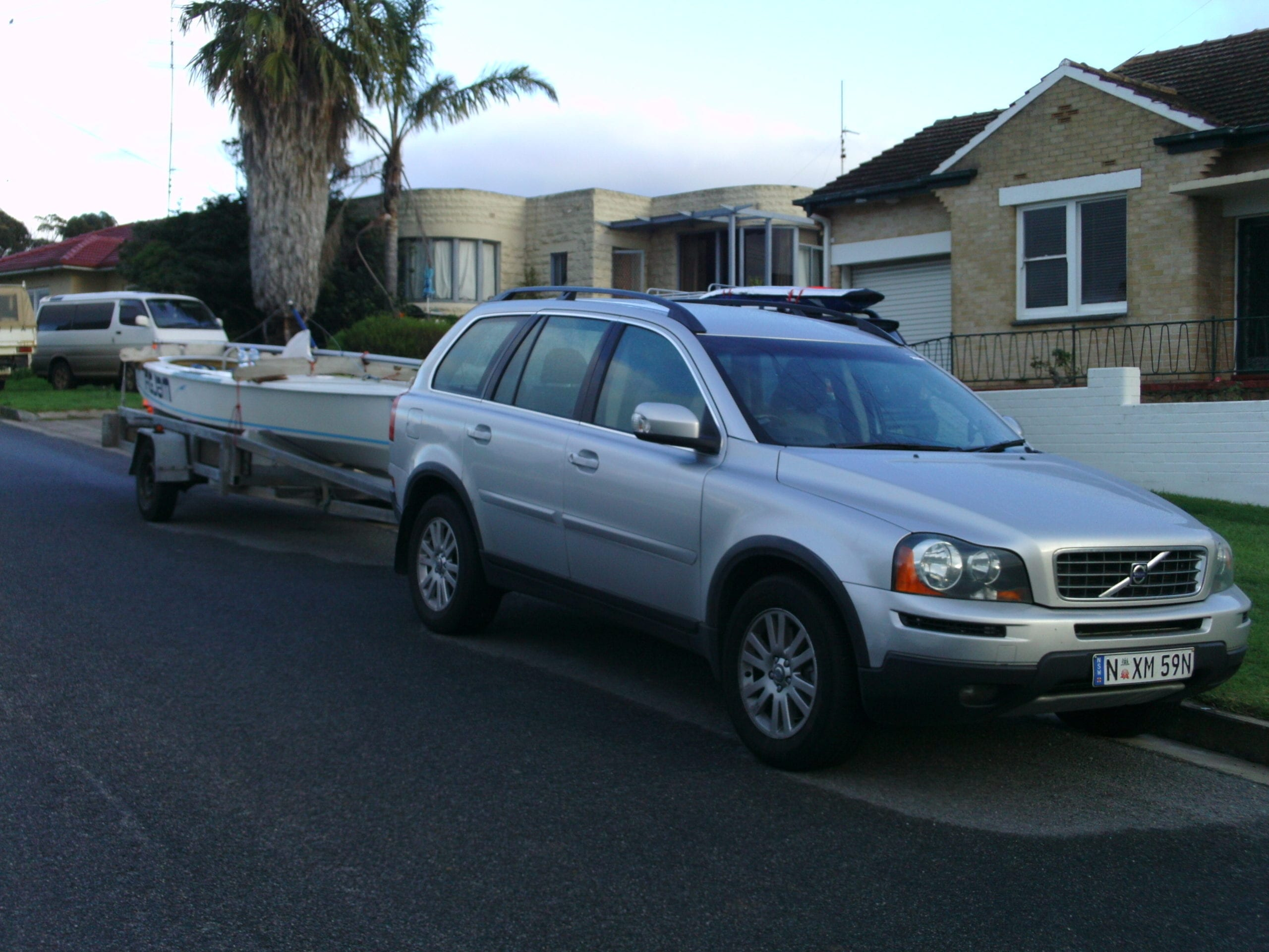 Project Regatta Vehicle was a success with Team Vic securing a new (to them) Volvo to tow V777 FIGJAM to Port Lincoln.