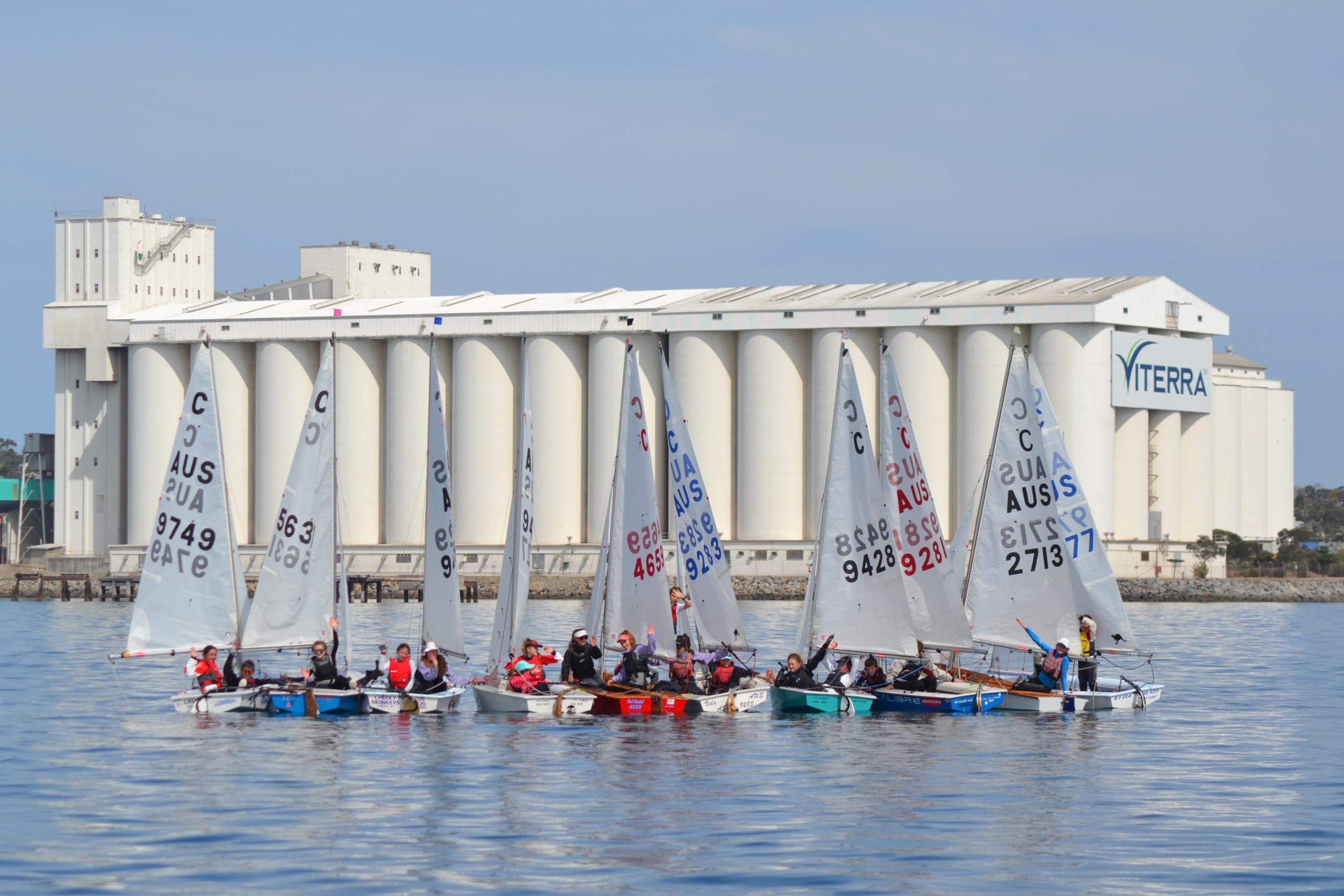 Wild weather won't stop youth sailing