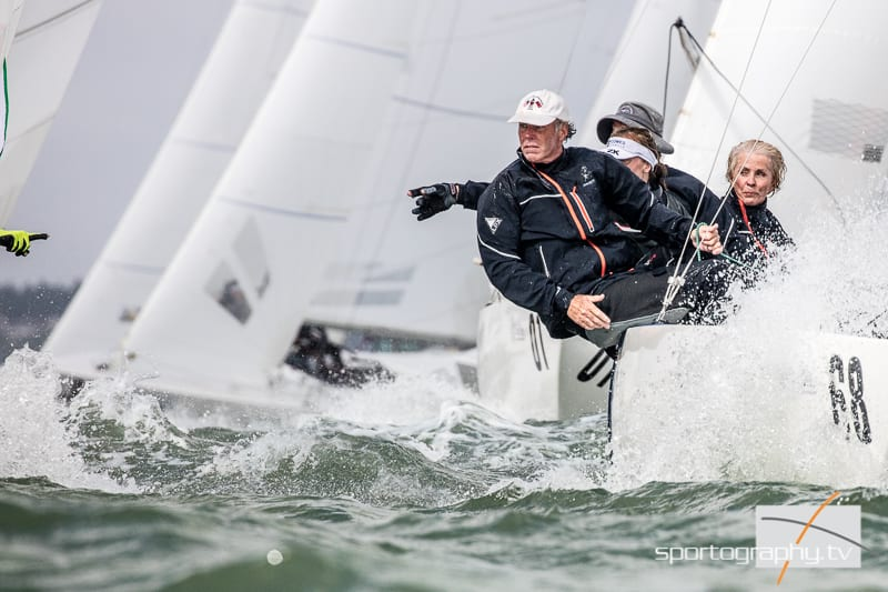 VIDEO, STORY – Etchells Worlds Day 5 – Its going to the wire