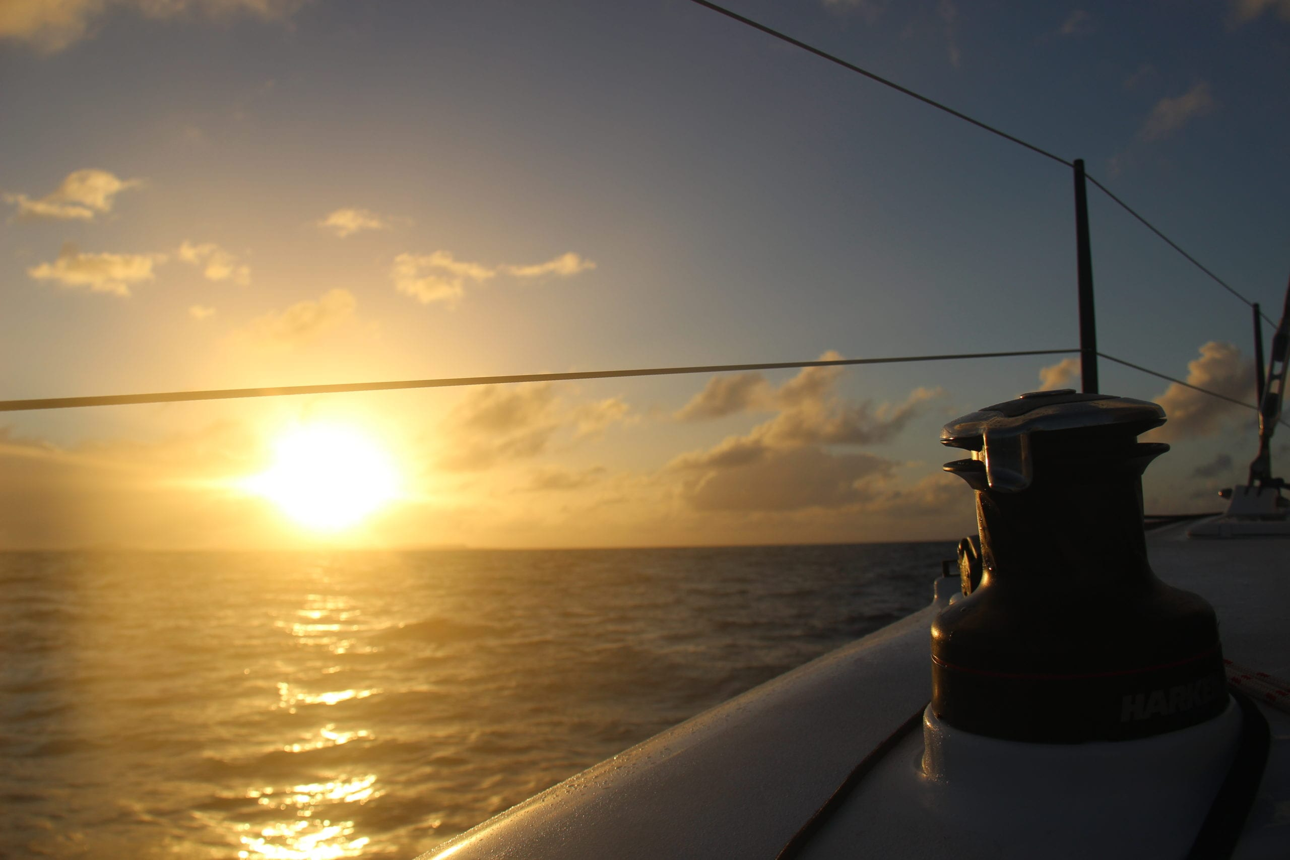 One of the many amazing views seen each day on board the Sail Surf ROAM adventure.