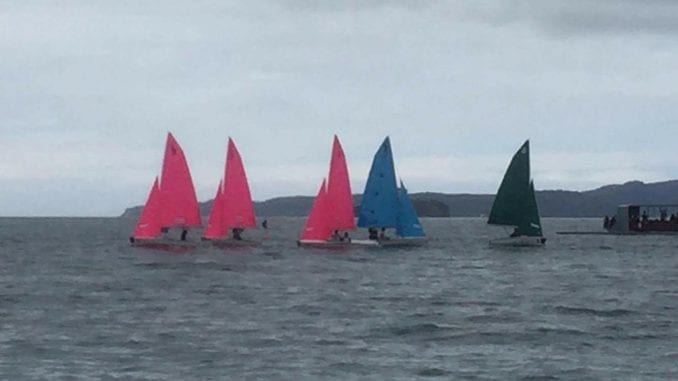 The Pacific Rim International Teams Racing Regatta was held in Algies Bay, New Zealand.