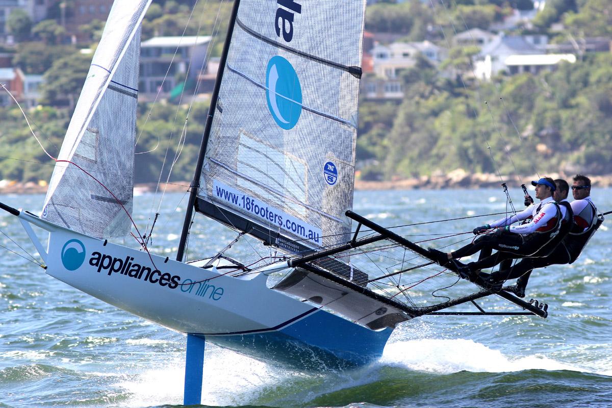 Appliancesonline.com.au was third in the 2016 JJ Giltinan championship.