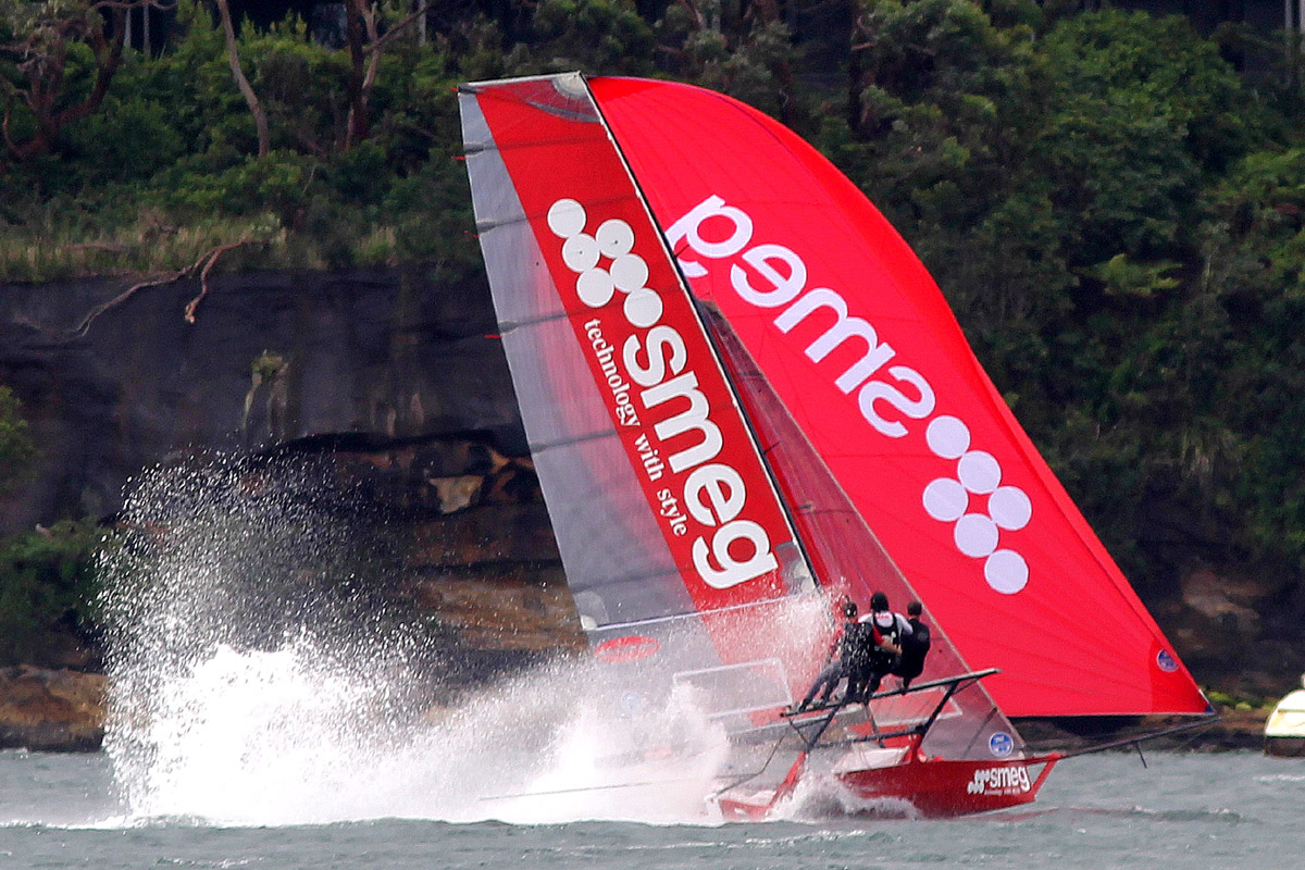 Last year's JJ Giltinan and Australian champions, Smeg.