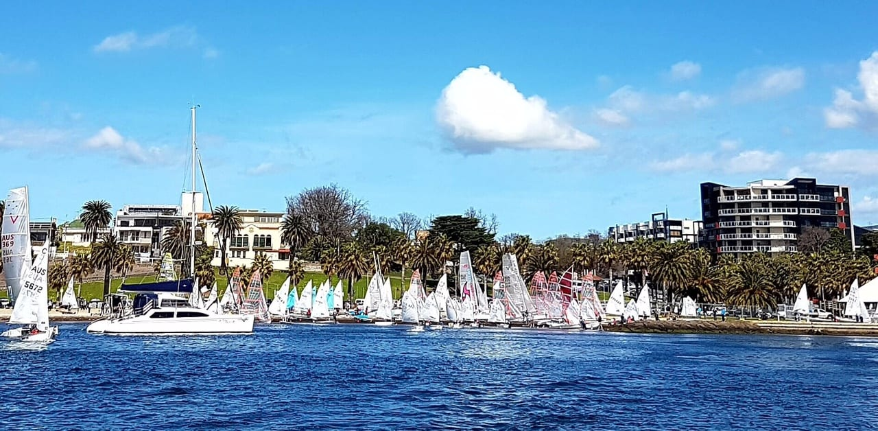 Cadets put on a show at Spring Sail 2016