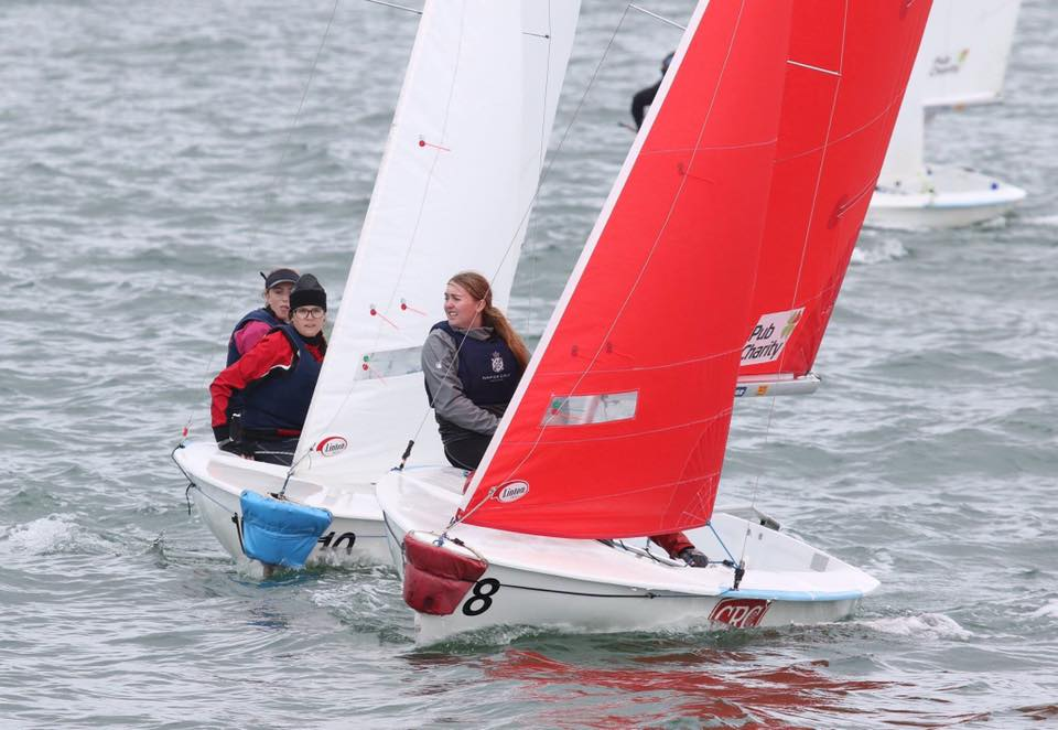 The racing has been close and competitive at the Pacific Rim regatta in New Zealand.