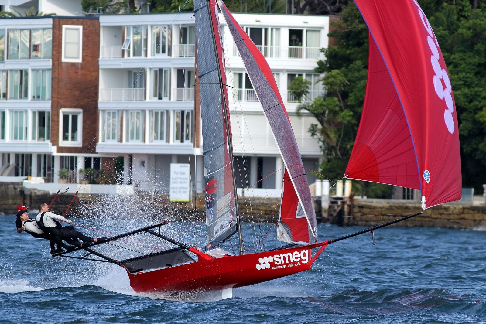 18ft Skiff Australian Calendar – UK Grand Prix – Video