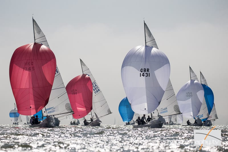 VIDEO, STORY: Tension mounts on day three of Etchells Worlds
