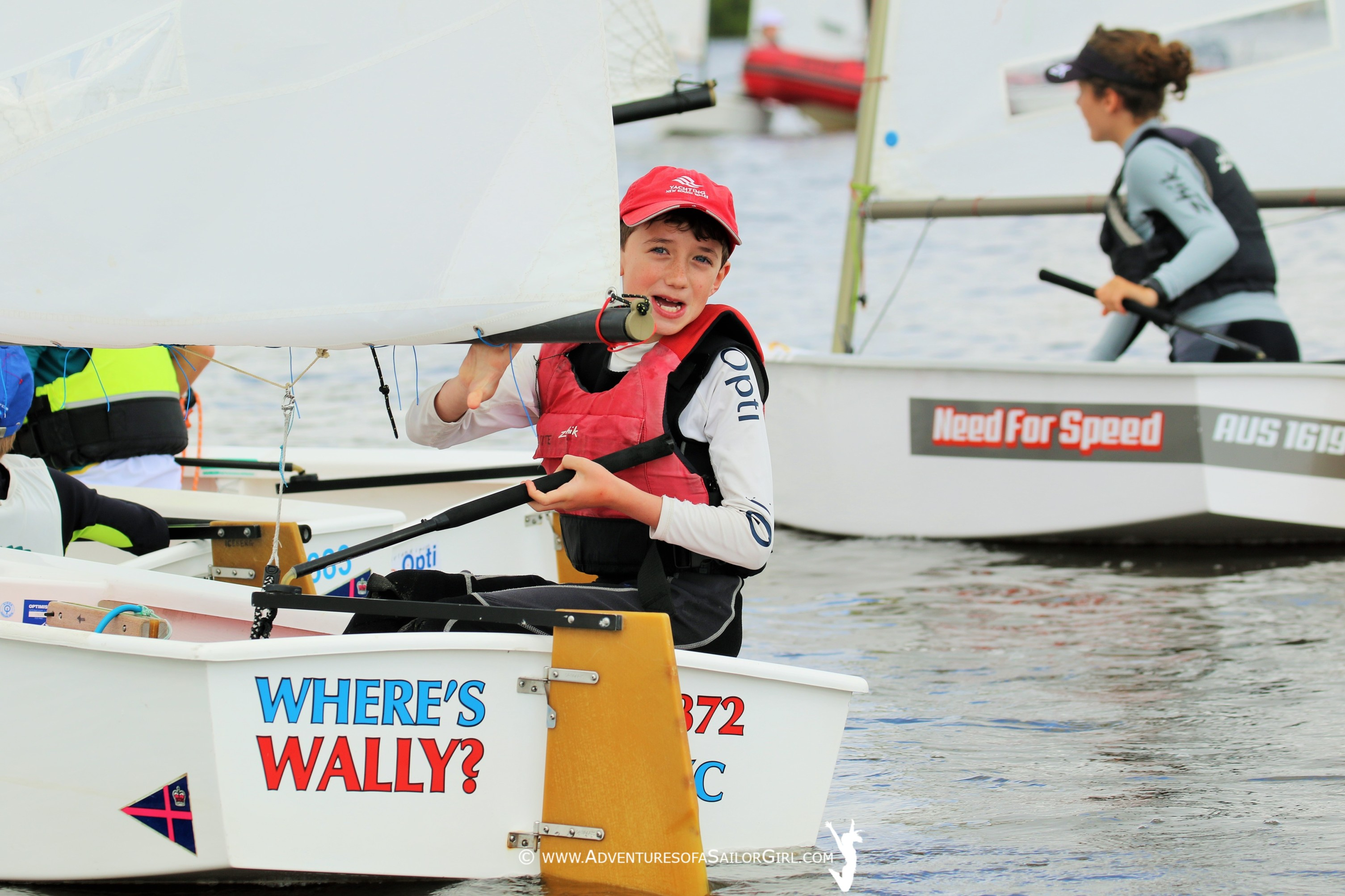 126-strong opti fleet in nation's capital | ACT Opti Champs