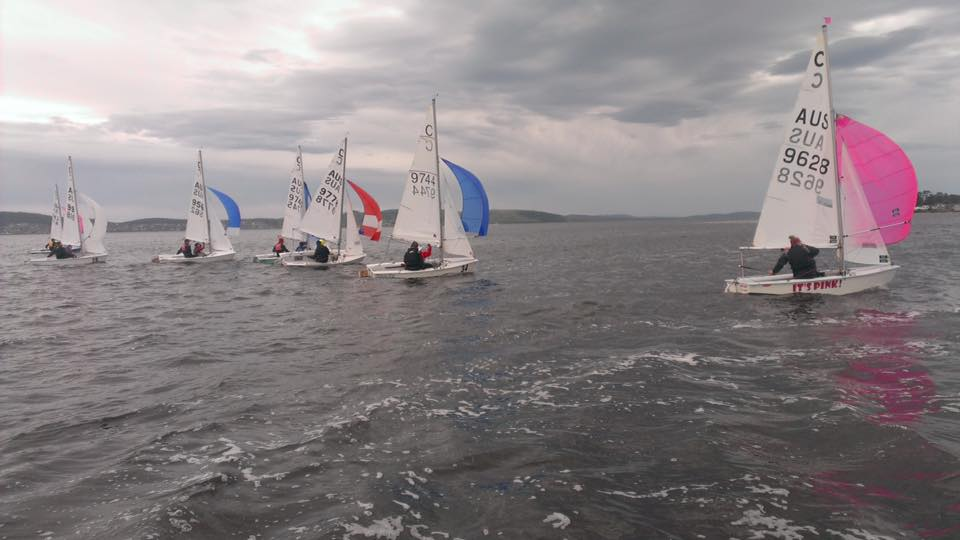 The Australian team took part in a three-day training camp on the Derwent River in preparation for the upcoming world championships.