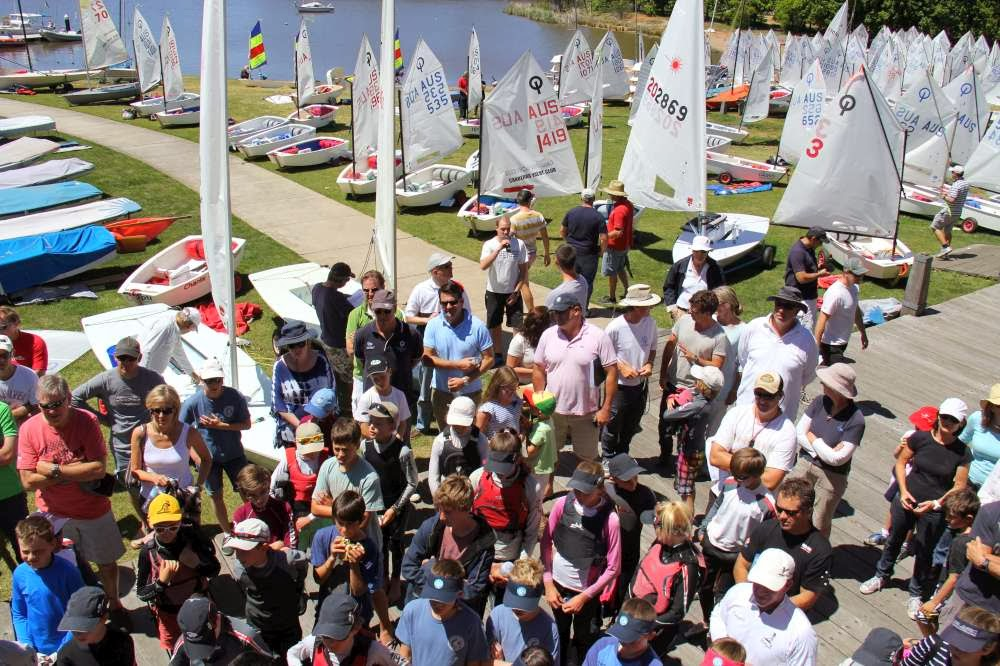Optimist sailors from right across New South Wales and Canberra took part in the ACT Optimist Championship.