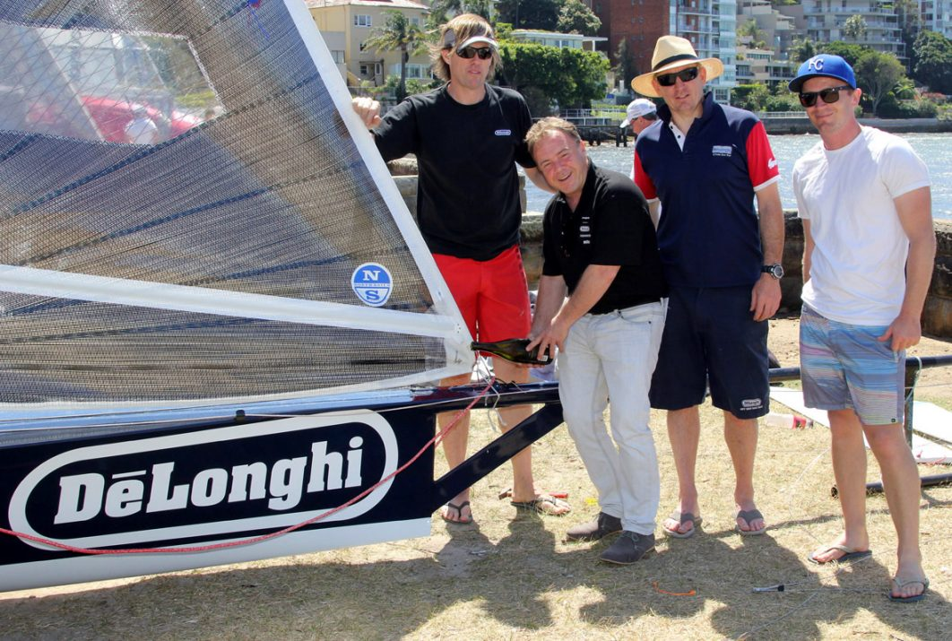 NEW DE'LONGHI SKIFF CHRISTENED FOR 2016-2017 SEASON
