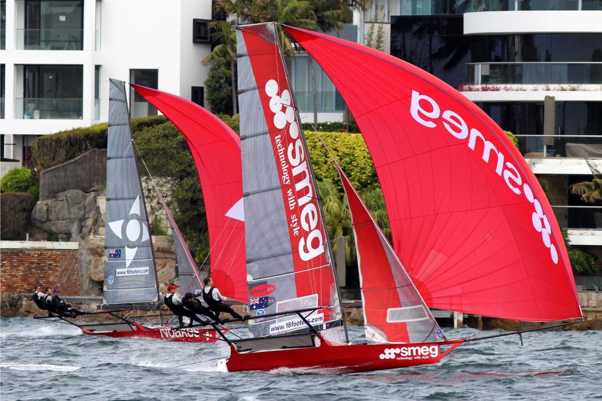 Noake Sailing pushing Smeg early