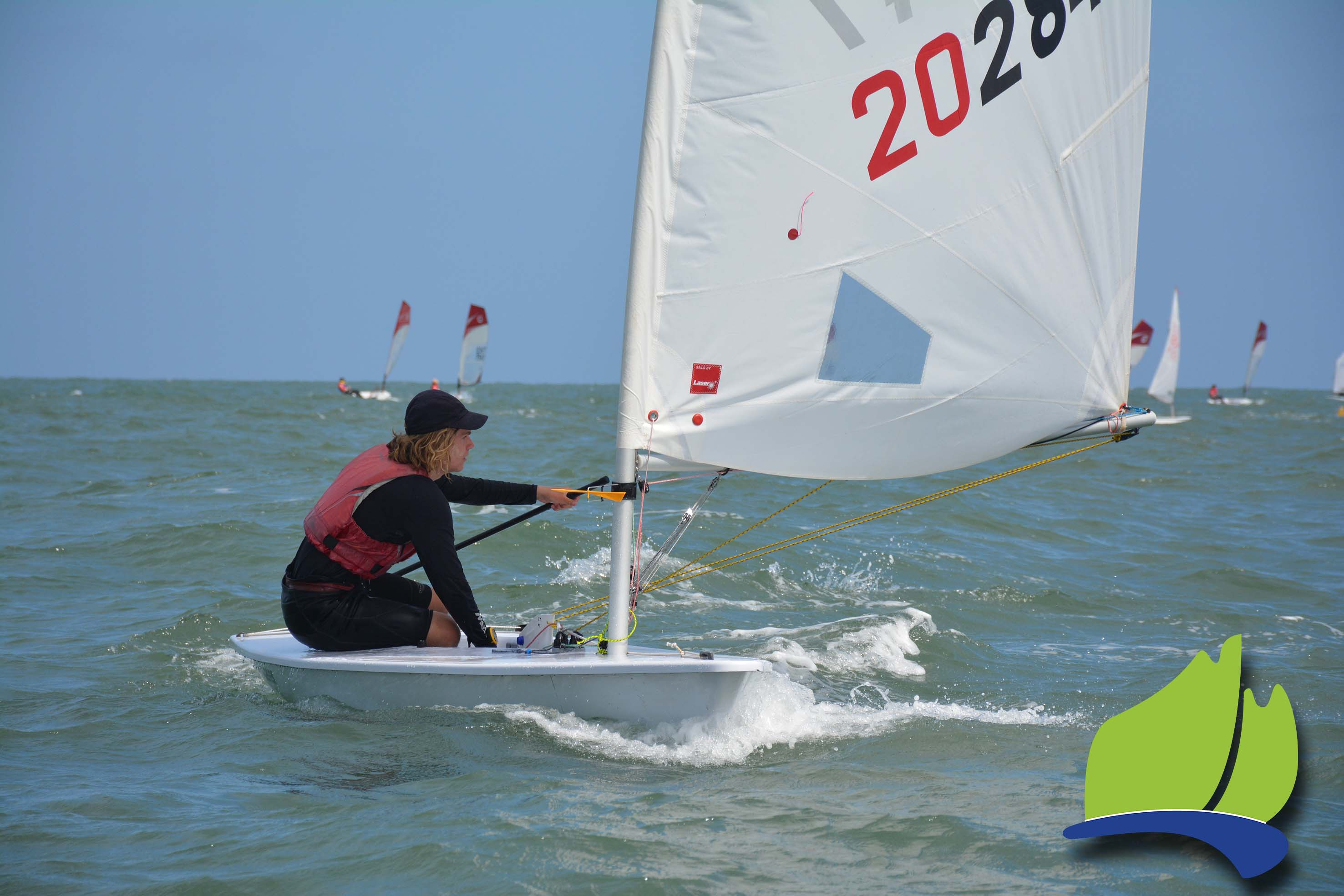 John Gordon was the overall winner in the Laser Radial fleet at the weekend.