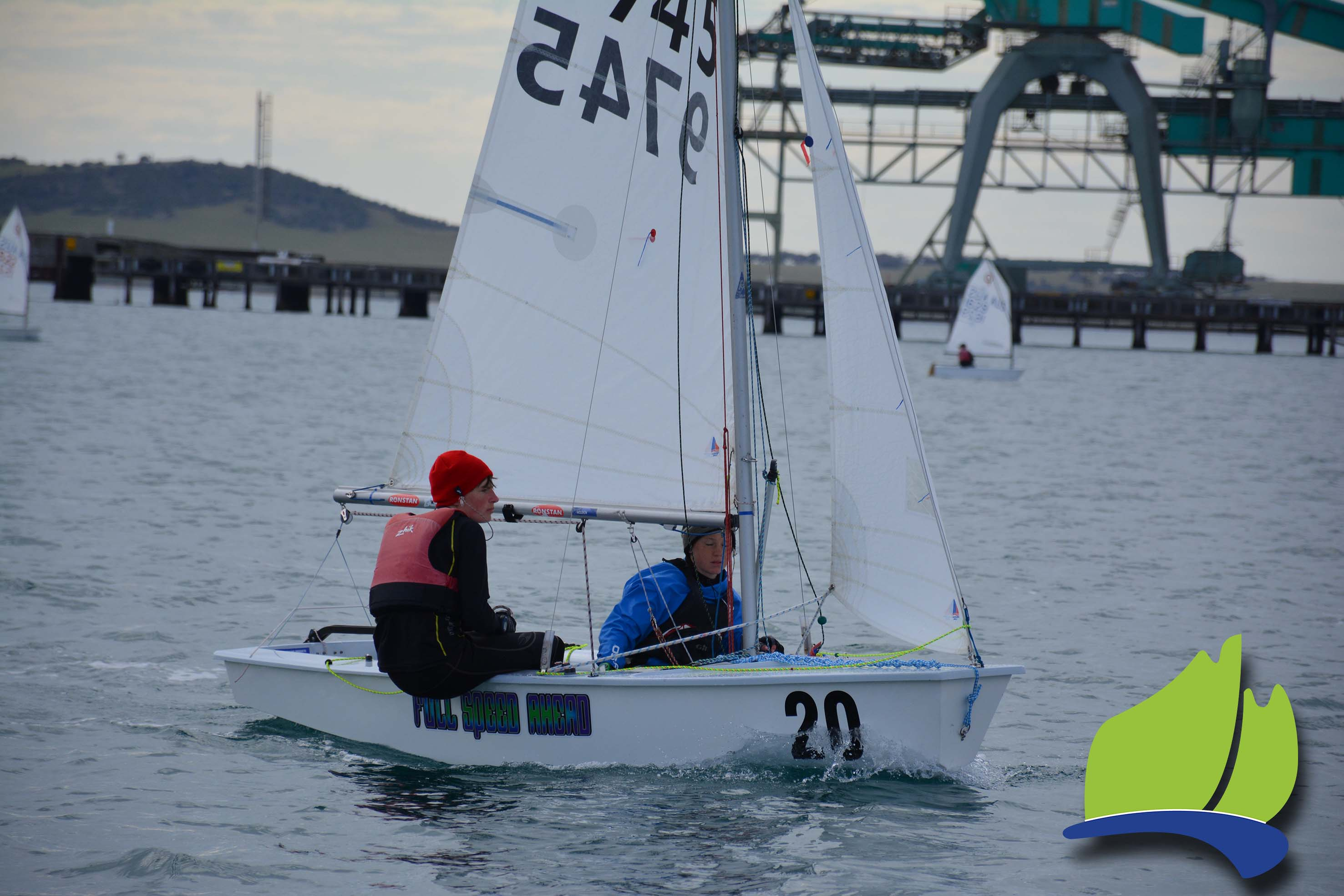 Sam Paynter and Gil Casanova in Full Speed Ahead in preparation for the upcoming world championship.