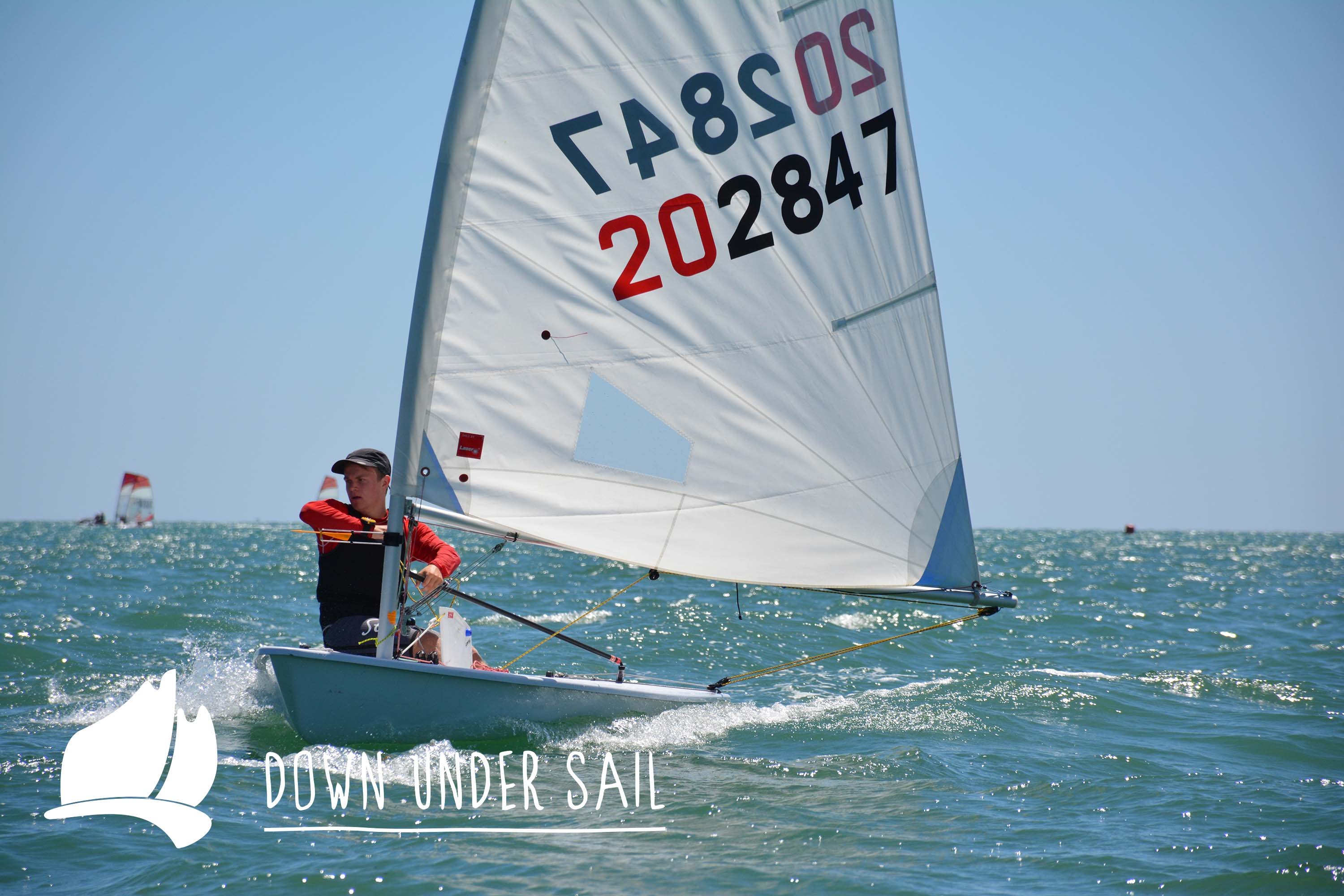 Adelaide's John Gordon was the winner in the Laser Radial fleet.
