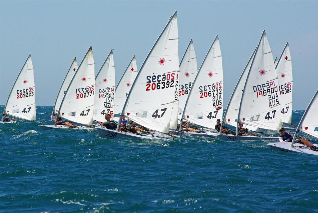 Laser fleet hits record numbers for Adelaide nationals