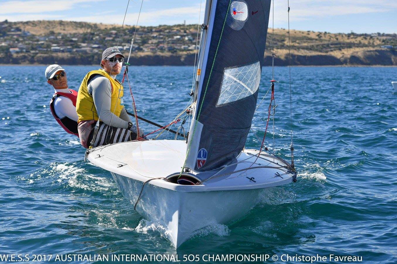 Michael Quirk and Reeve Dunne finished second in the opening race. Photos: Christophe Favreau