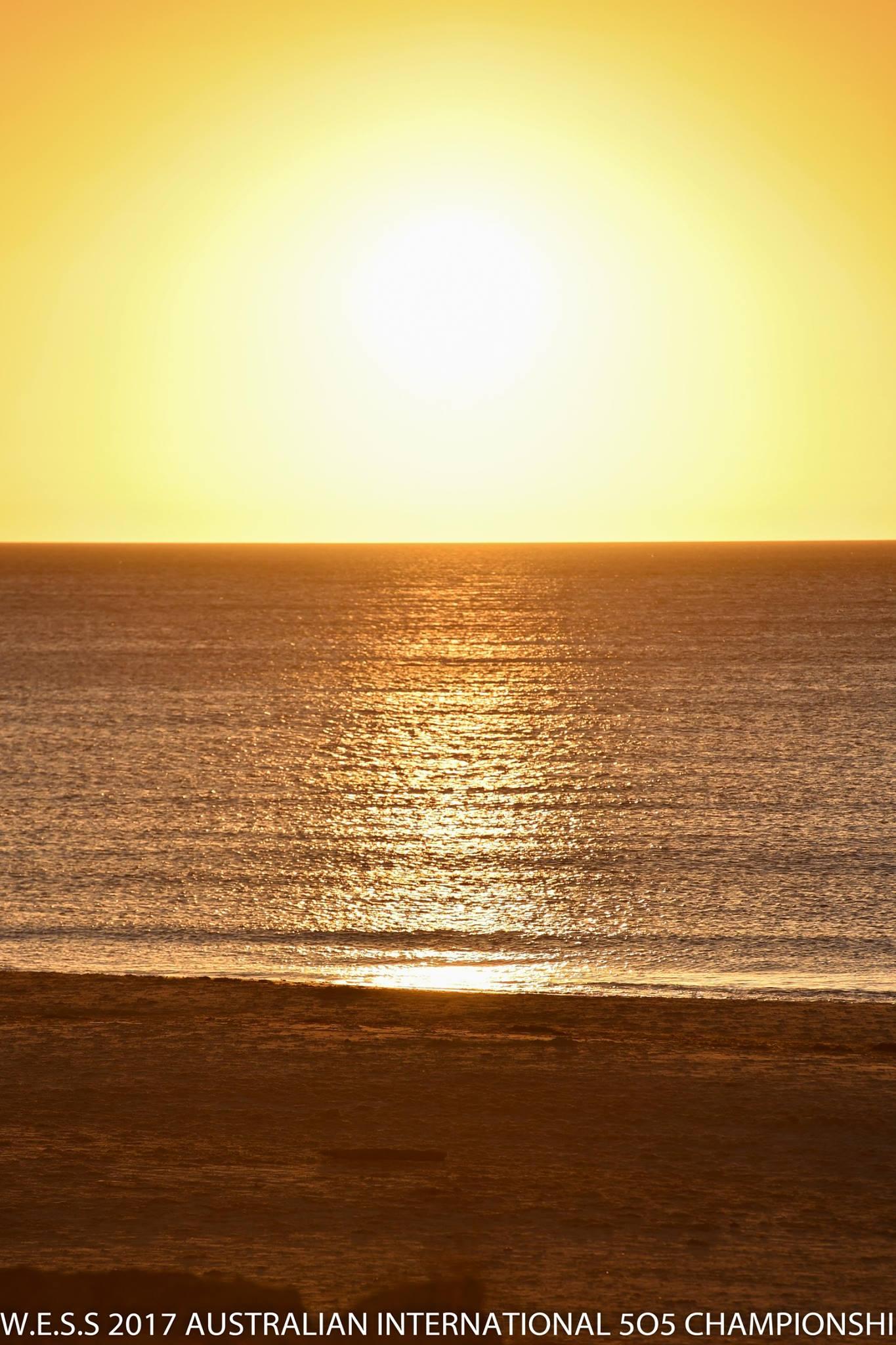 A Seacliff sunset — doesn't get much better. Photos: Christophe Favreau