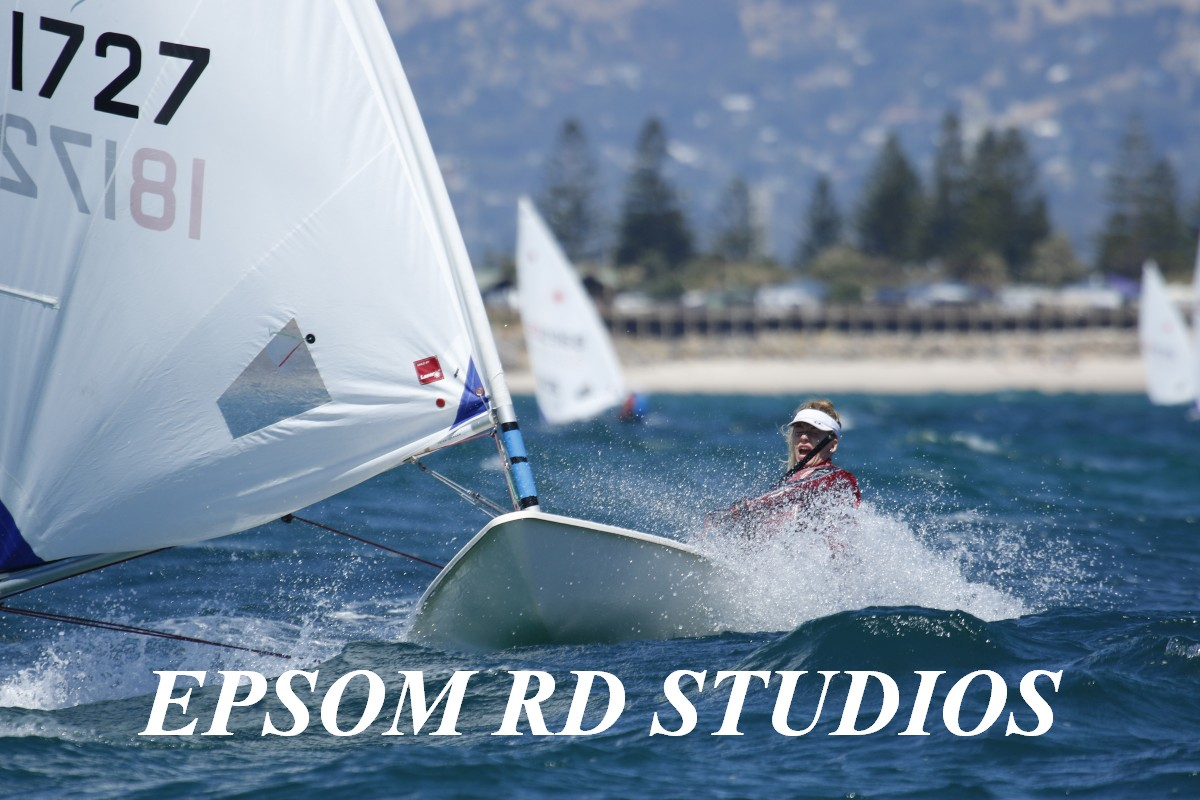 There were some great rides on the fourth day of championship racing at the Adelaide Laser Nationals. Photos: Epsom Rd Studios