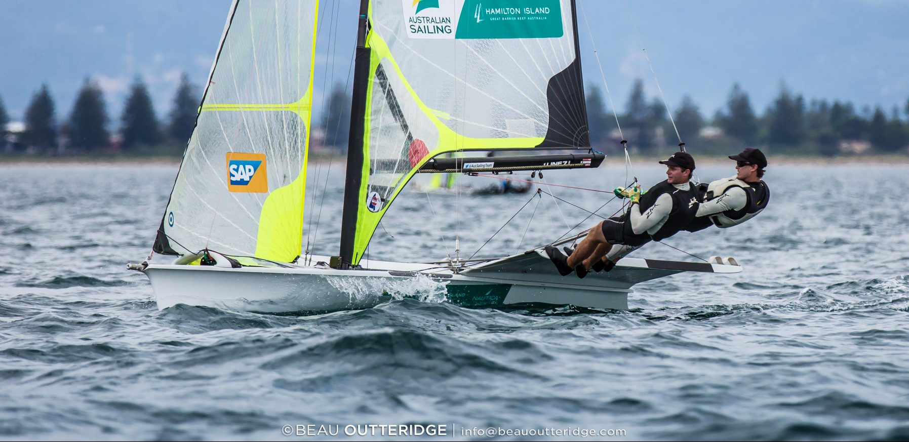 9er Nationals | Gilmour and Turner steam home in 49er