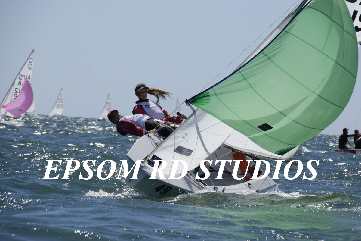 The strong Largs Bay winds have been a feature of the regatta. Photos: Dave Birss, Epsom Rd Studios.