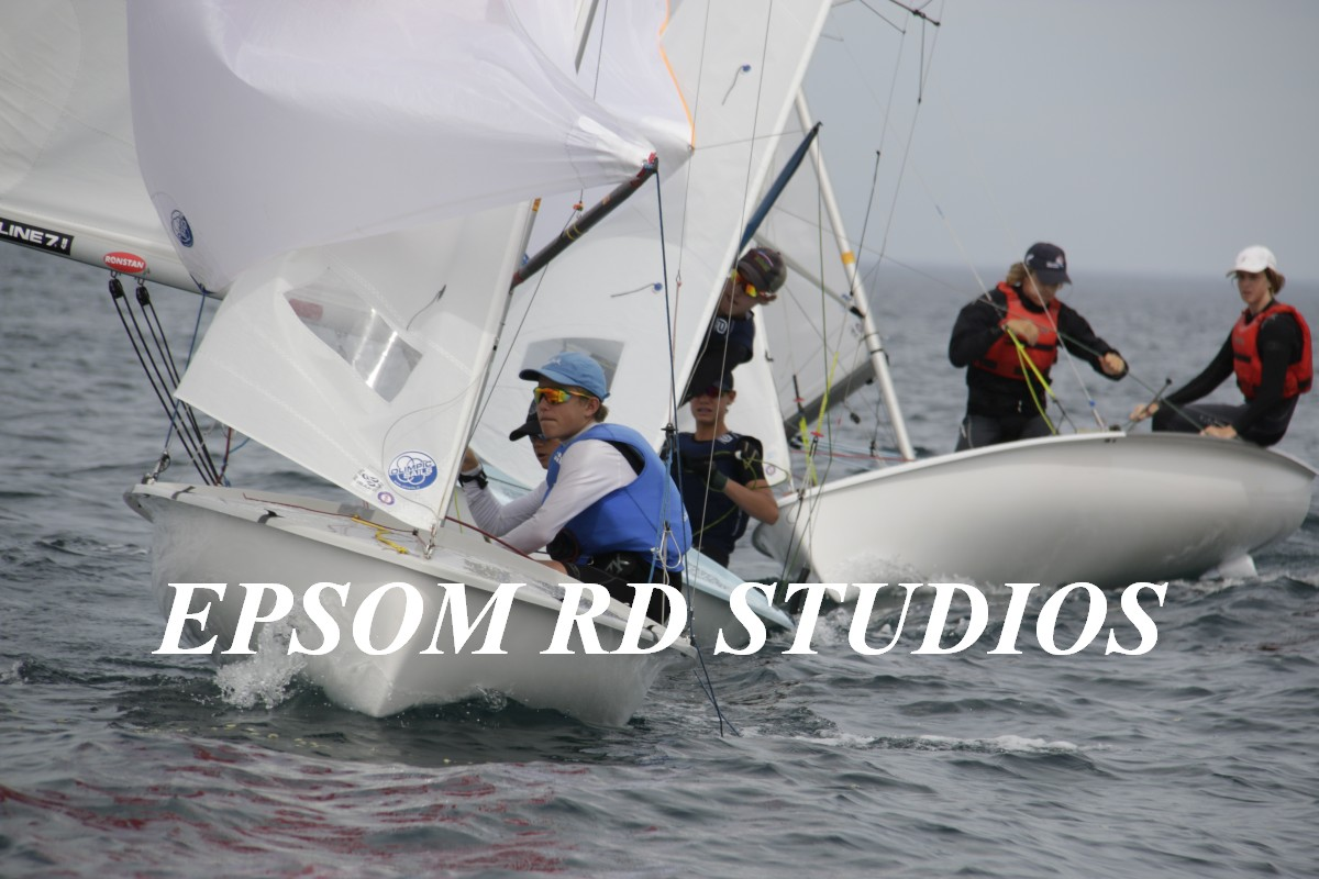 420 Nationals | Light winds and hot weather causes challenges