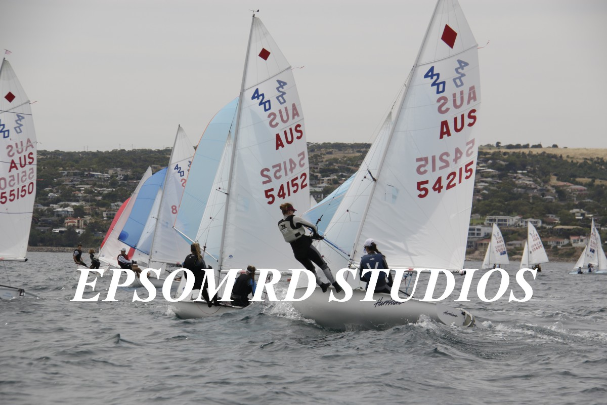 420 Nationals | Henry and Featherstone come home with a wet sail