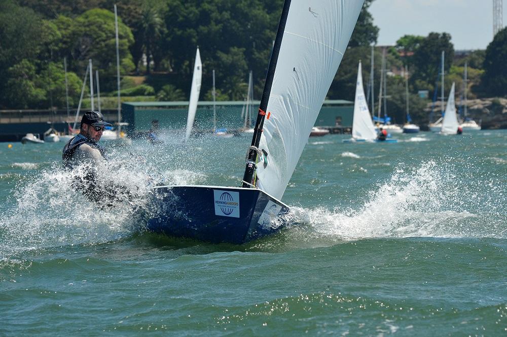 Brent Williams sailed well for South Australia - Bruce Kerridge pic