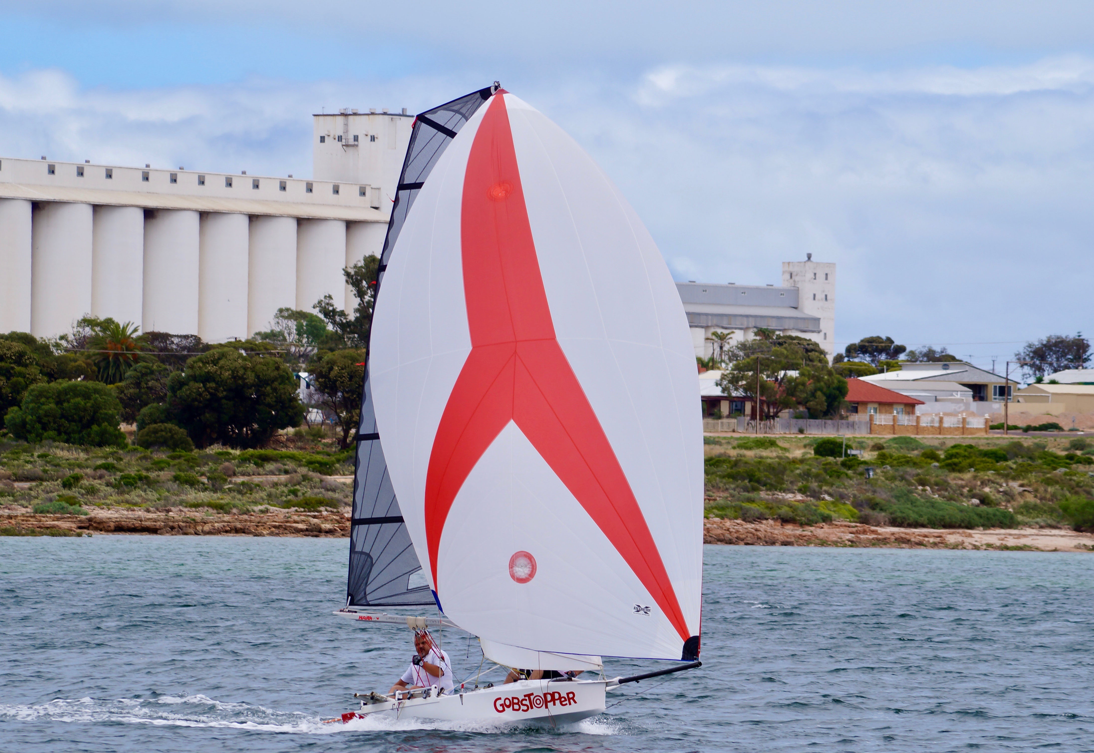 Racing in Ceduna is fast and exciting.