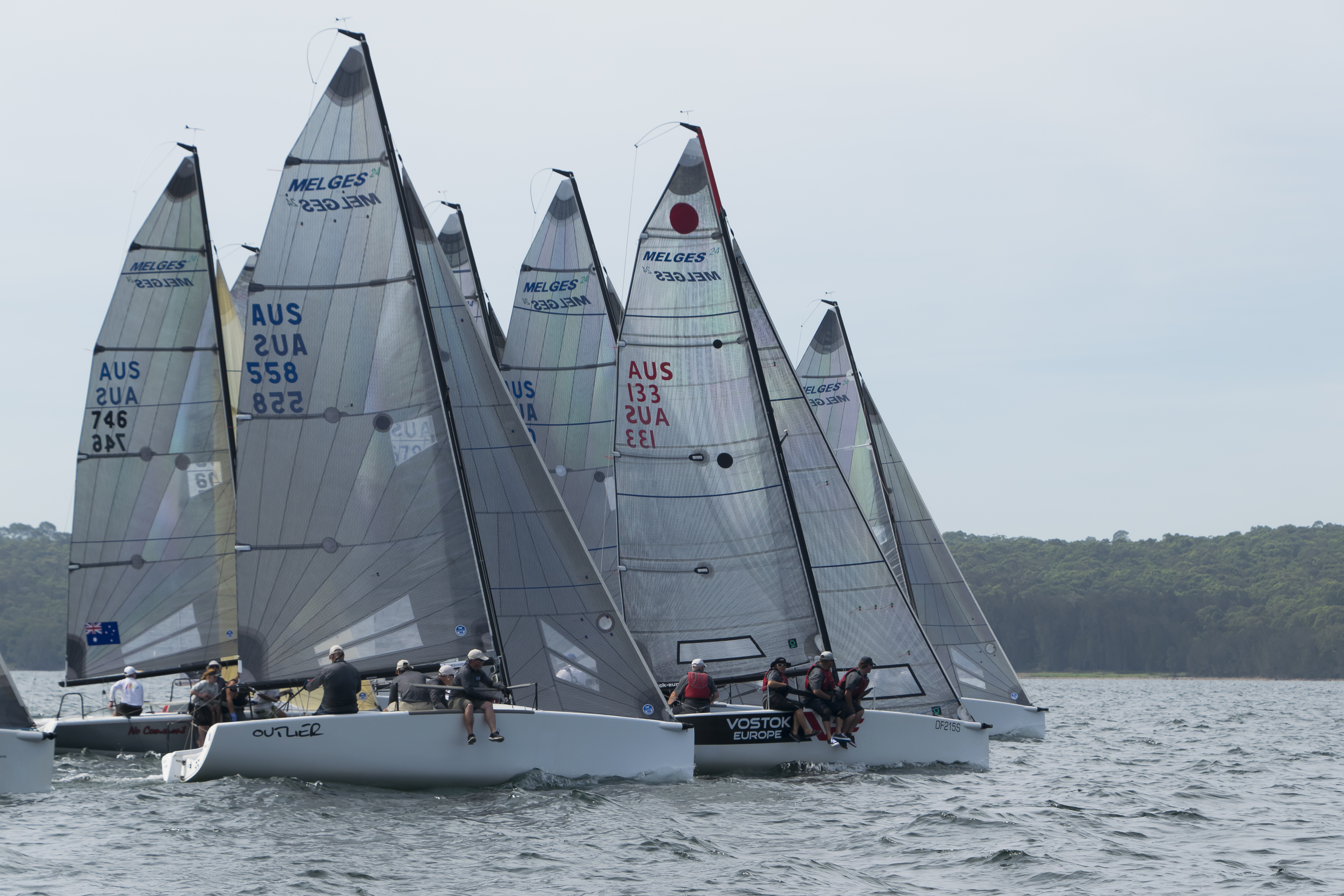 Melges 24 Nationals | Two-time champ eyeing off third title