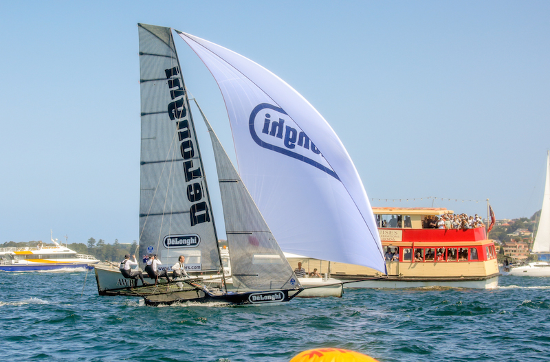 DeLonghi takes the bullet in race two of the Australian Championship. Photo Michael Chittenden_