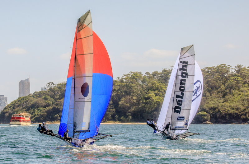 Yandoo closed in on the leaders on the final run to the finish. Photo Michael Chittenden_