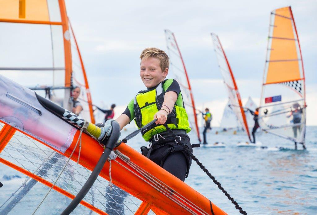 Plethora of water sports to learn at Brighton holiday program