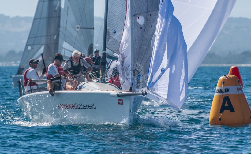 Andy Wharton's Accrewed Interest took out the Helly Hansen Melges 24 Nationals at the Blairgowrie Yacht Squadron. Photos: Ally Graham.