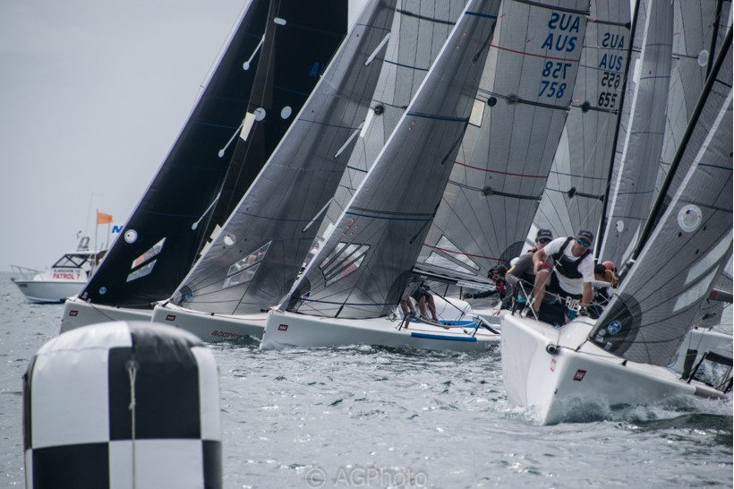 Melges 24 Nationals | Tough weather and close racing on opening day