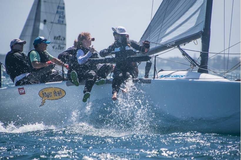 Melges 24 Nationals | Tight racing at the top of the fleet