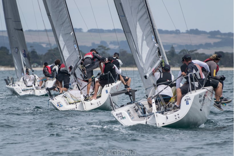 Melges 24 Nationals | Newman, Wharton to battle in blockbuster finish