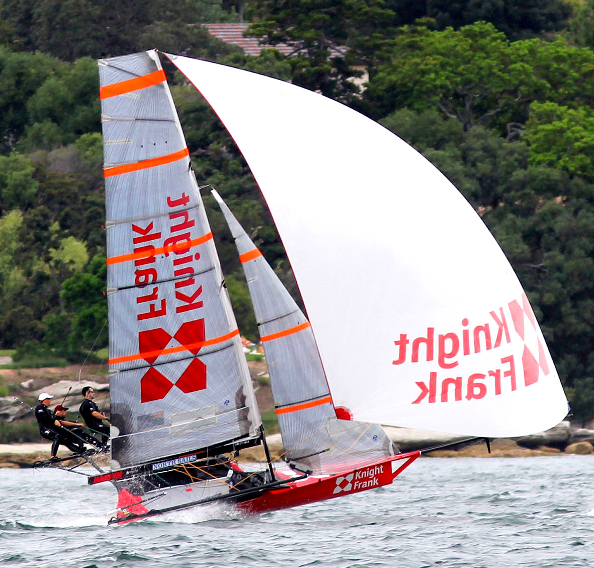 Knight Frank, one of the new skiffs built over the past three seasons