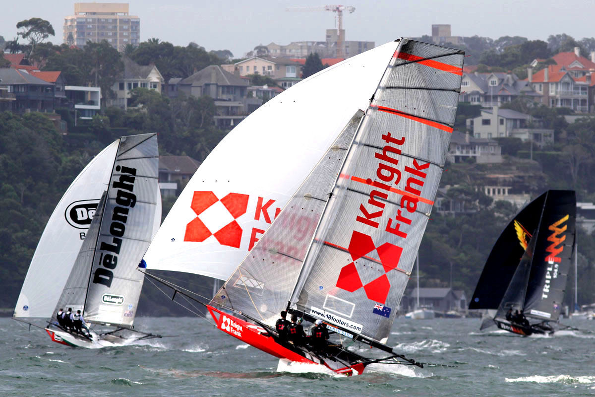NZs Knight Frank is always a contender with good boat speed