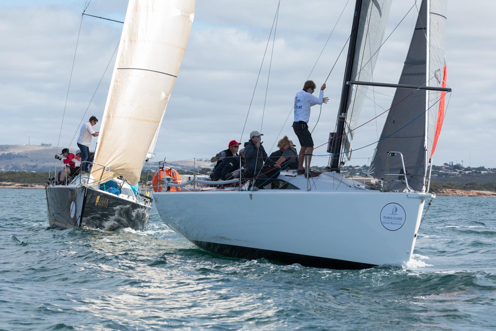 Teakle Classic | SMB wins regatta, but local boat Fresh sails well