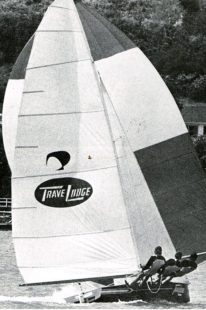 Terry McDell's Travelodge New Zealand totally dominated the 1974 championship at Auckland 241