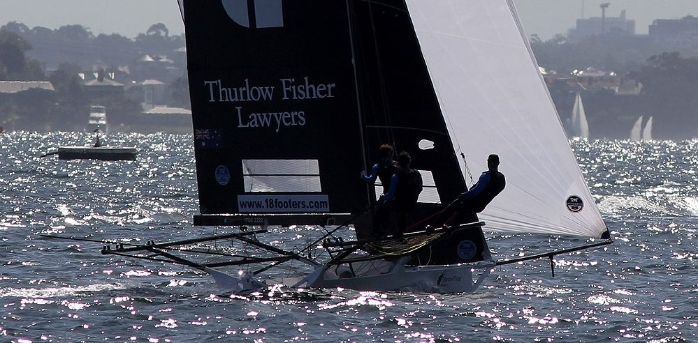 18s – Thurlow Fisher completes the ideal preperation