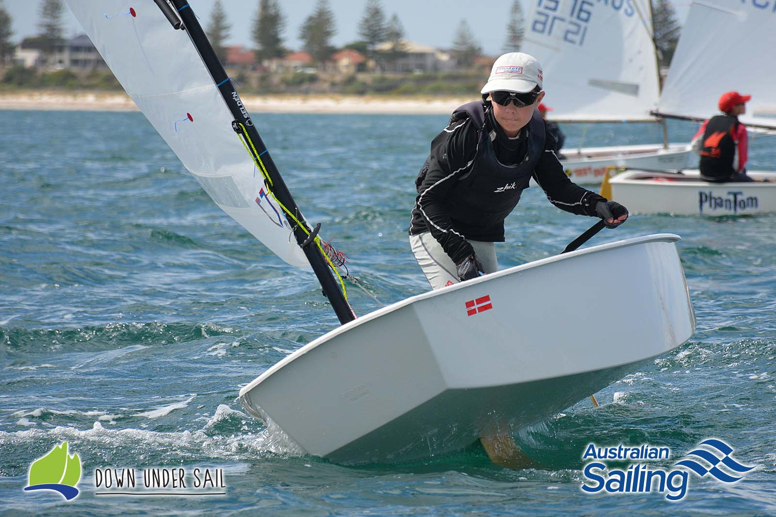 Adelaide Sailing Club's Ben Hinks will be competing in the Optimist Open fleet.