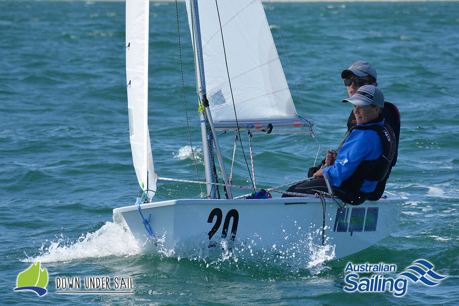 Sam Paynter and Gil Casanova in Full Speed Ahead were the International Cadet winners at last year's SA Youths.