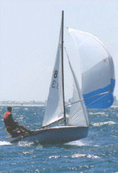 The 303 class no longer races in South Australia but has always been an iconic double-handed boat.