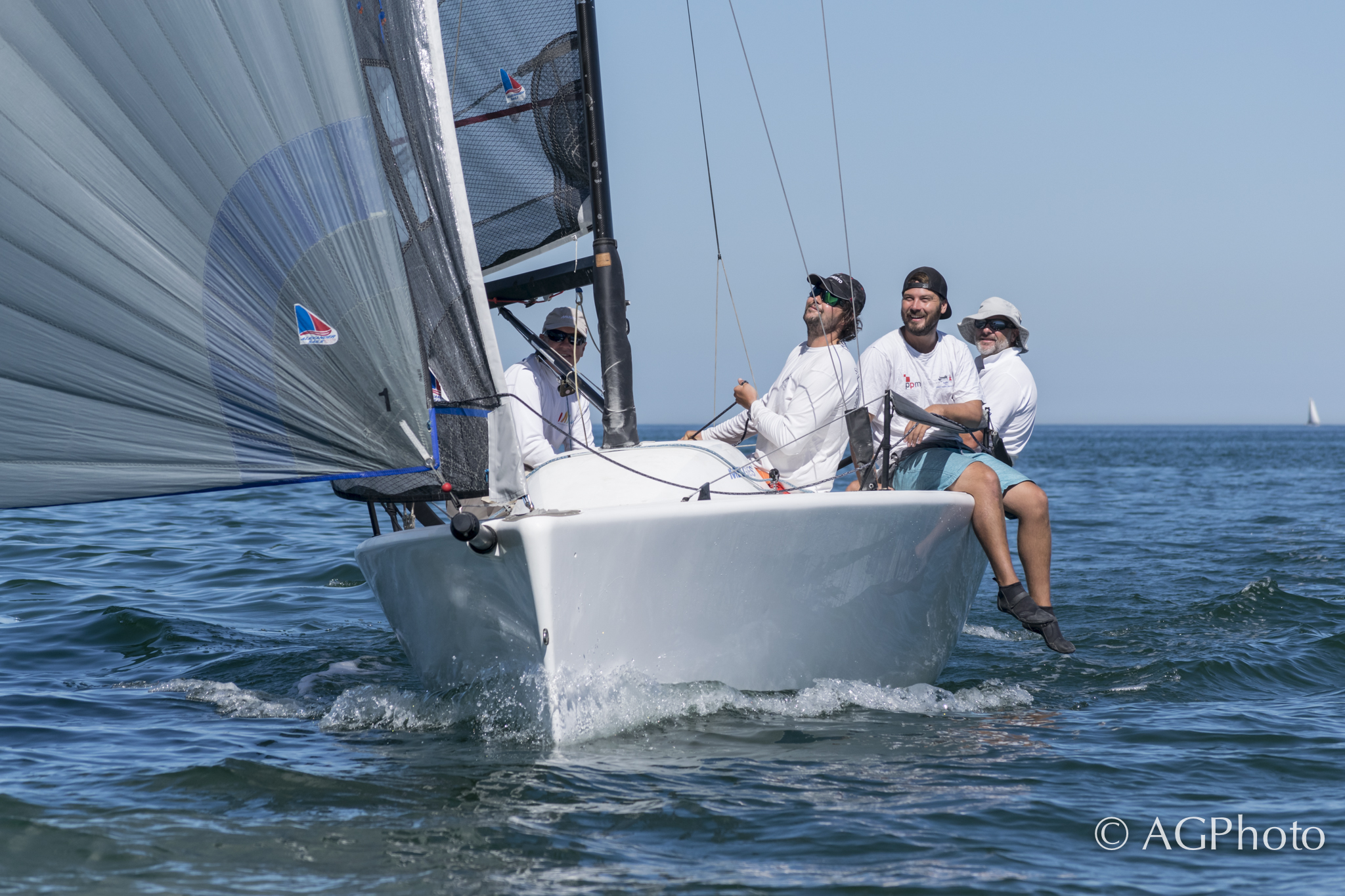 Alexander cleans up in Vostok Europe Melges 24 Regatta